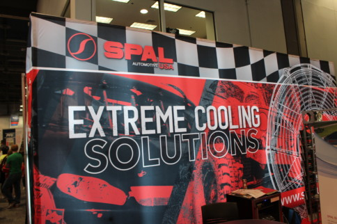 SEMA 2018: SPAL Fans Are Super Cool, Literally...