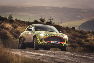 Video: Aston Martin Begins Testing Prototype DBX SUV