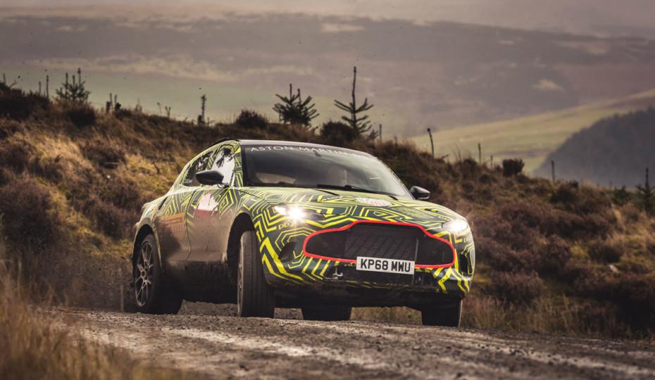 Video: Aston Martin Begins Testing Prototype DBX SUV