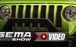 SEMA 2018: Bolt Lock Jeep JL Spare Tire And Hood Locks