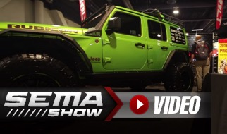 SEMA 2018: BOLT Lock's Glowing Green Jeep Is All About Security