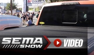 SEMA 2018: LINE-X's Slick Raptor Build With Unique LXP Tonneau Cover