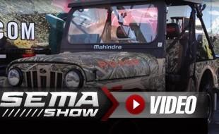 SEMA 2018: Mahindra ROXOR Camo Build