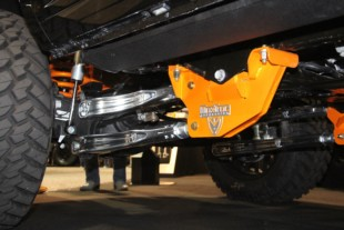 SEMA 2018: MaxTrac's Forged Aluminum Four-Link Suspension System