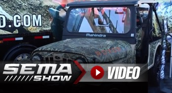 SEMA 2018: Stay Hidden This Hunting Season With Camo Wraps From Rox