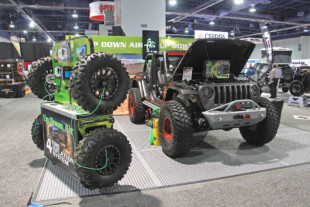 SEMA 2018: Up Down Air's Four-Tire Inflation System Changes The Game
