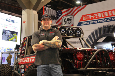 SEMA 2018: US Gear Keeps Ultra4 Champion Loren Healy Going