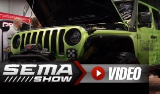 SEMA 2018: Volant Performance's Jeep JL Air Intakes