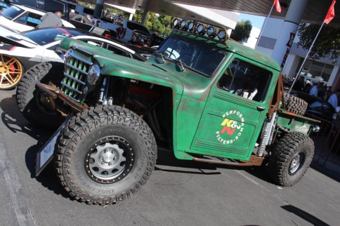 SEMA 2018: Colorado Sand Cars 1954 Willys Pickup