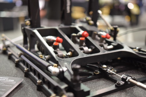 PRI 2018: Tilton Sliding Pedal Assembly And ABS Master Cylinder