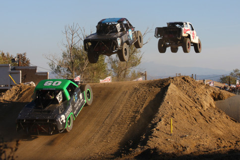 Stadium Super Trucks Hit The Dirt Hard At Glen Helen