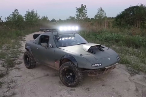 Video: Gingium's Rally Miata Build