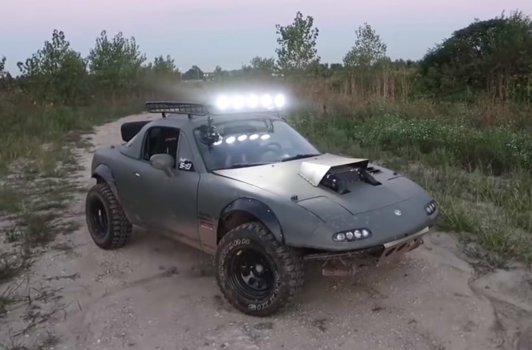 Video: Gingium's Rally Miata Build