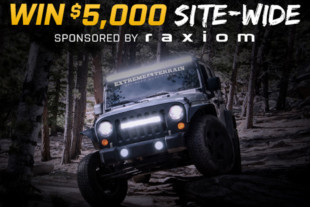 Extreme Terrain x RAXIOM $5,000 Giveaway