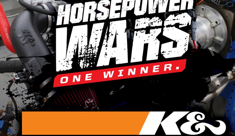 K&N Engineering Joins the Fun for Season 2 of Horsepower Wars