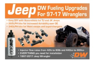 DeatschWerks Releases Pump And Injector Kits For Popular Jeep Models