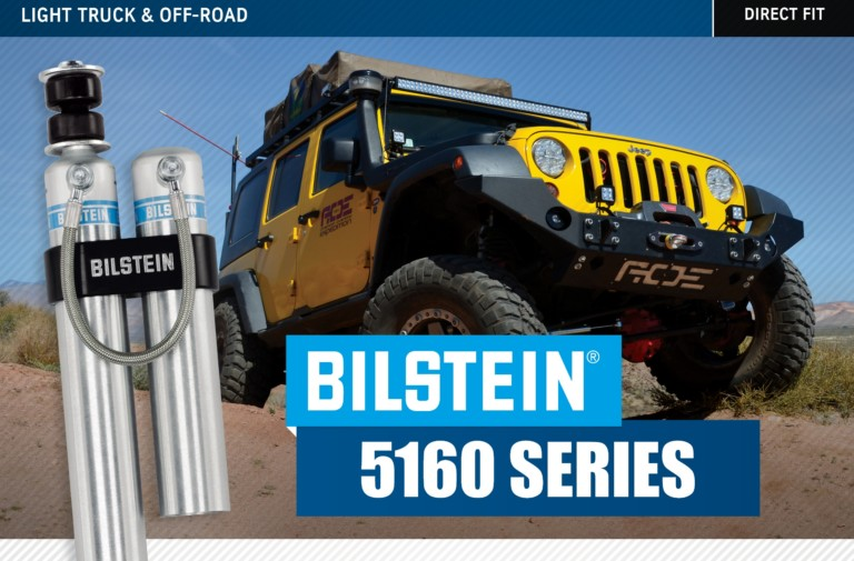Quick Hit: Bilstein B8 5160 Series Off Road Shock Absorbers