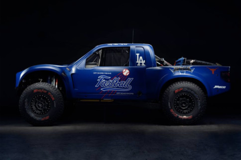 "Big League Build: L.A. Dodgers Owner Unveils ""Fastball"" Trophy Truck"