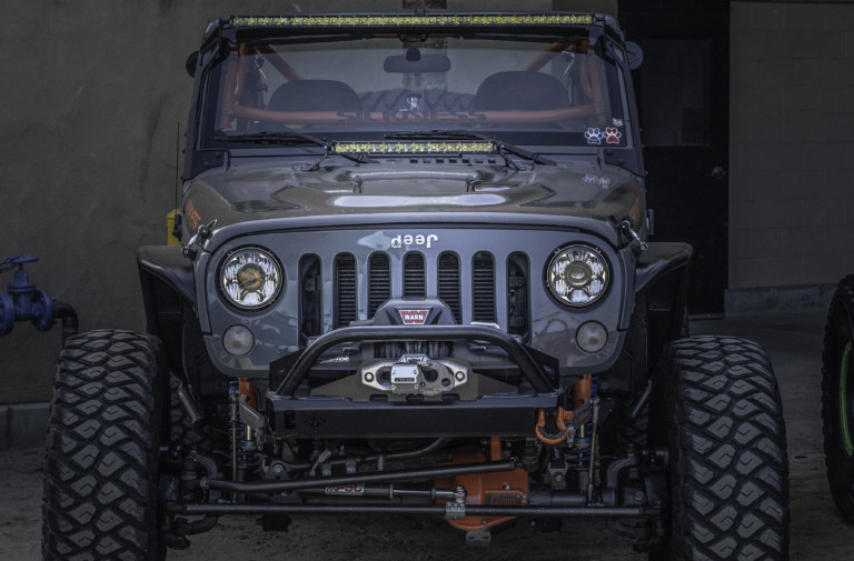 "Down With The ""Sickness"": Jamie Chaussee's Rock Crawling Wrangler"