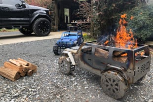 Quick Hit: Fab Fours Rolls Out Jeep-ified Fire Pits