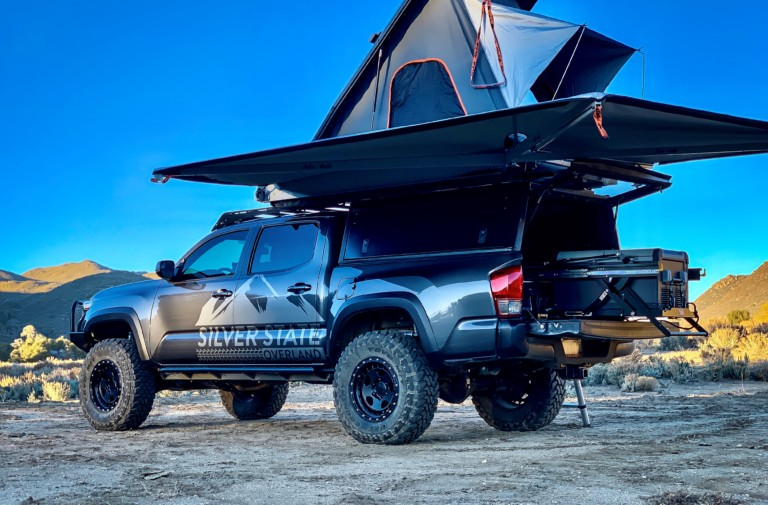 Quick Hit: Toyo Tires And Tacoma TRD Off-Road Silver State Overland