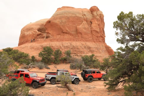Gladiator Battle: Testing Out Jeep's Concepts In Moab