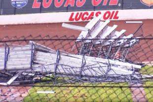 Video: Lucas Oil Speedway In Missouri Hit Hard By Storm