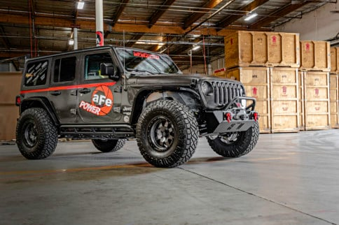Test Drive: aFe's Jeep JL With Momentum Intake And Exhaust System