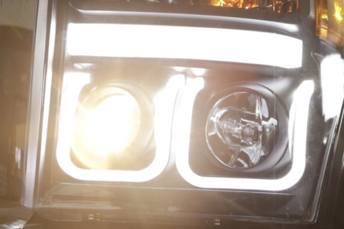 Video: AnzoUSA U-Bar Headlight Install For 2011-16 Super Duty