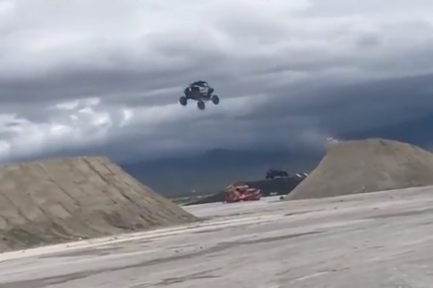 Video: New Longest Jump World Record Distance Set In A RZR