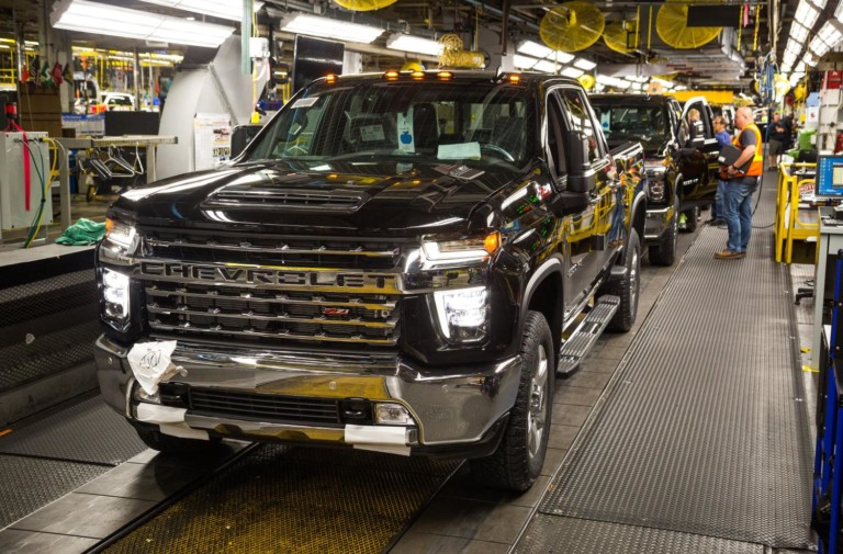 GM Increasing Truck Production Capacity In Flint Assembly Plant