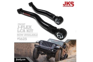 JKS Releases J-Flex Front Control Arms For Wrangler JL Applications