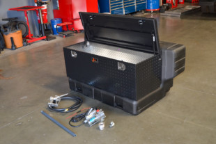 Fuel For The Road: Titan Fuel Tanks' In-Bed Transfer Tank Toolbox