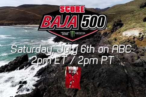 Video: 51st Annual SCORE Baja 500 To Air On ABC July 6th