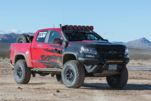 Chad Hall's Chevy Colorado ZR2 Wins Class In Vegas To Reno