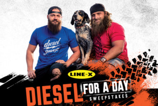 Diesel For A Day Sweepstakes With Line-X And The Diesel Brothers