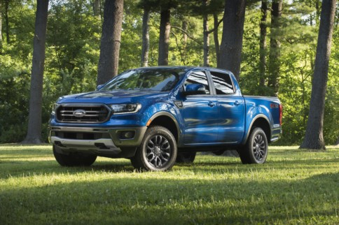 Ford Ranger 2WD Gets Sporty Off-Road Package