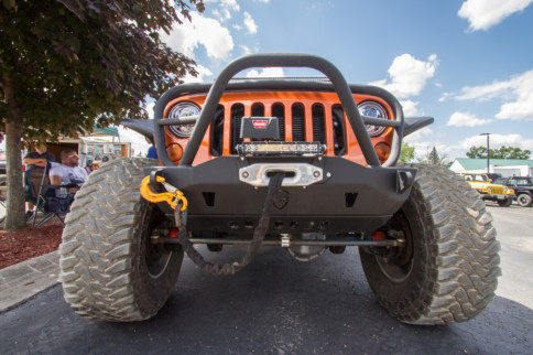 Dakota Customs' Mango Tango JK8 Turns Heads At The 2019 Jeep Fest