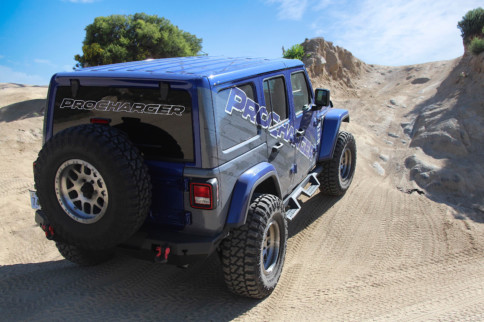 Recharged: Exploring The ProCharger P-1SC-1-Equipped Jeep JL