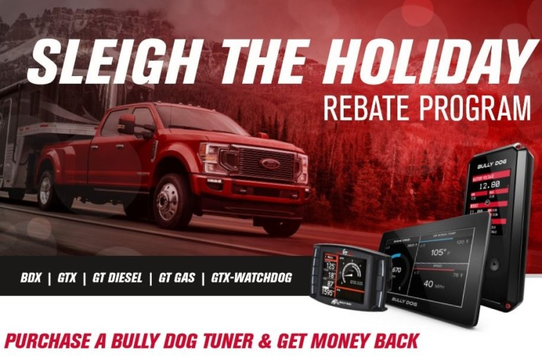 """Bully Dog Announces Holiday Rebate """"Sleigh The Holiday"""""""