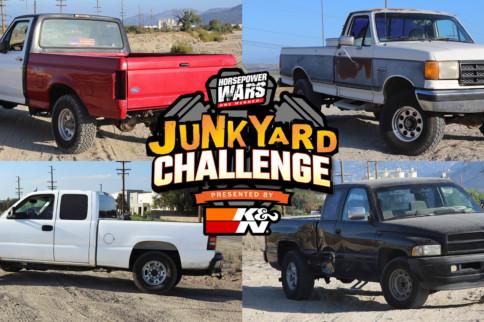 Diamonds In The Rough: Meet The Junkyard Challenge Build Trucks!