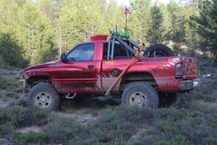 Flew The Coop: AJ Butler's 2000 Dodge Ram 1500 Gambler Build