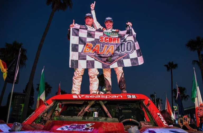 Ryan Arciero Takes Overall Wins At Inaugural Lucerna SCORE Baja 400