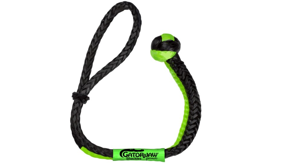 Bubba Rope Releases NexGen PRO Gator-Jaw Synthetic Shackle