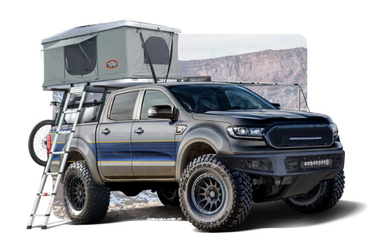 Six Trucks of SEMA: Ford Announces Custom Ranger Lineup