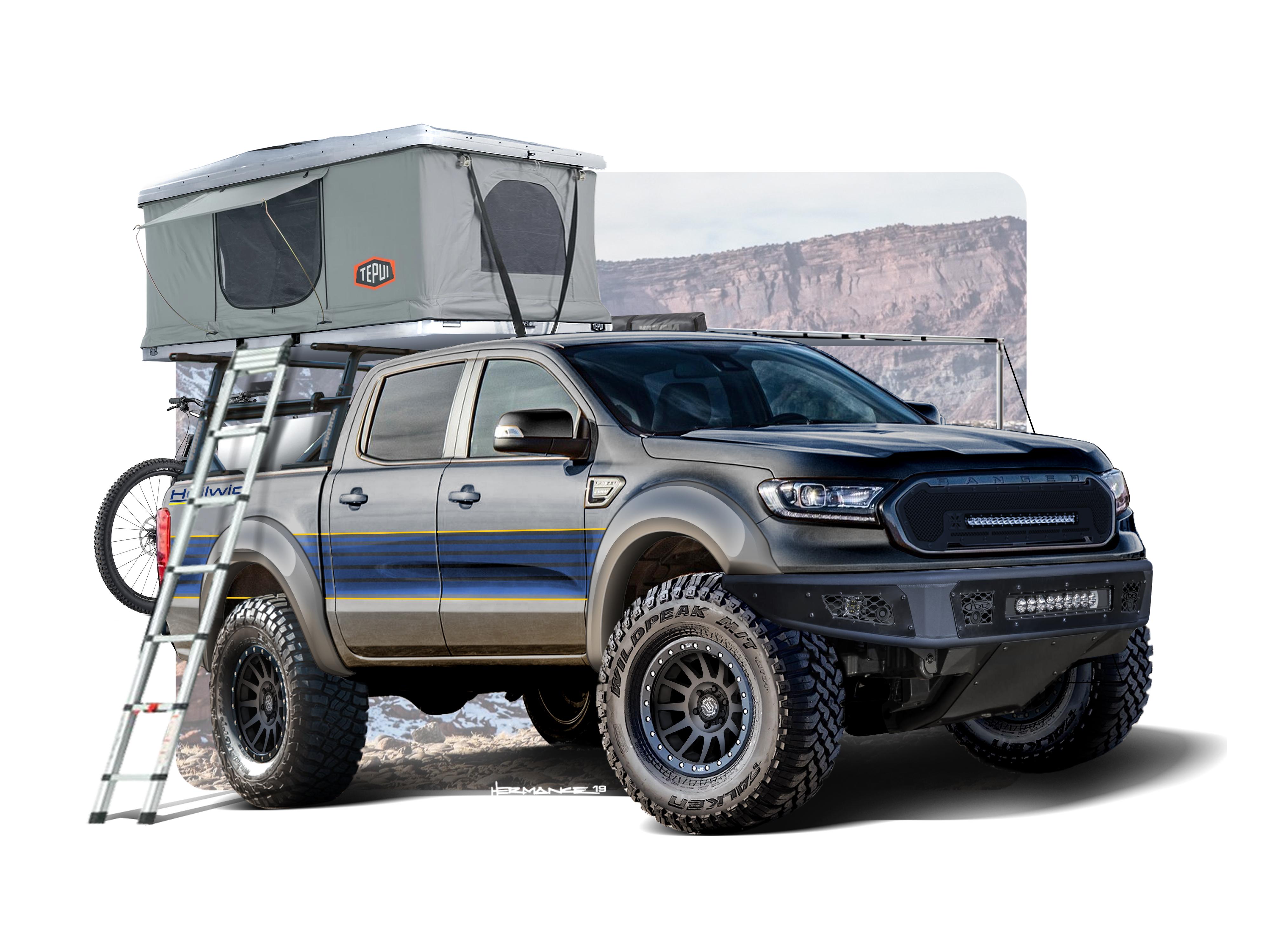 Six Trucks Of Sema Ford Announces Ranger Lineup Fordnxt Com