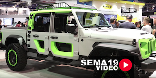 SEMA 2019: Line-X's Jeep Gladiator Features A Host Of New Products