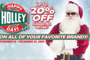Buy Parts, Save Money. The Happy Holley Days Sale Is Here