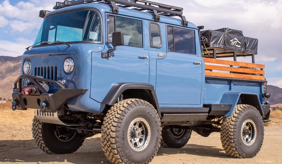 Overland Cordon Bleu: 1964 M677 Quad Cab Forward Control Jeep