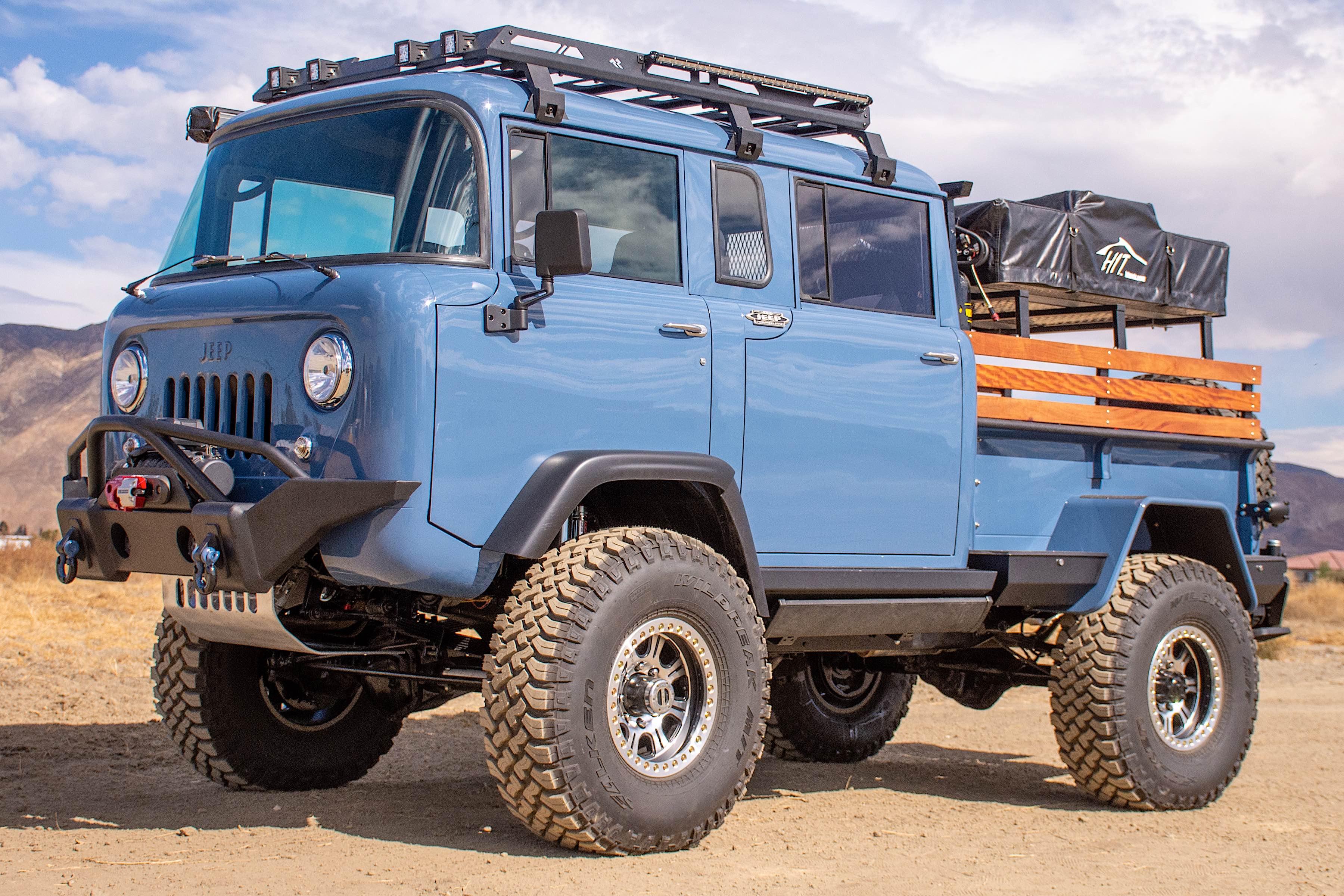 Overland Cordon Bleu 1964 M677 Quad Cab Forward Control Jeep